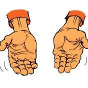 k.hand open.oranje.def