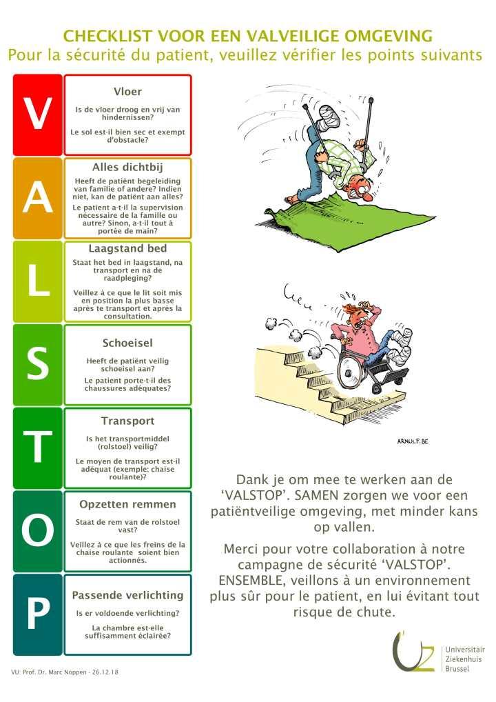 UZ BXL-VALSTOP Poster - 20181226-1